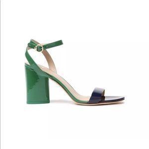 Tory Burch Elizabeth 2 two toned sandal.